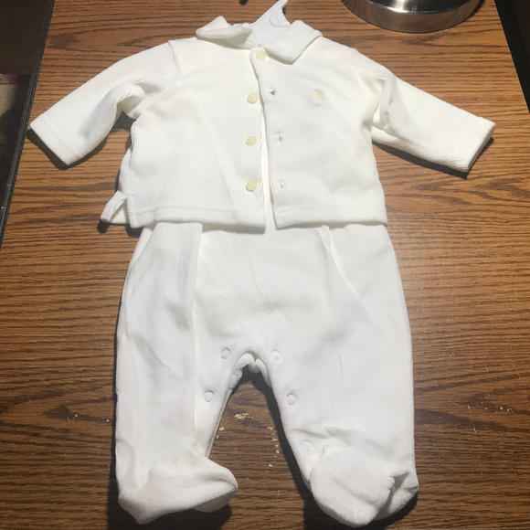 Ralph Lauren Other - Ralph Lauren set sleeper, jacket, onesie 0-3M NWT